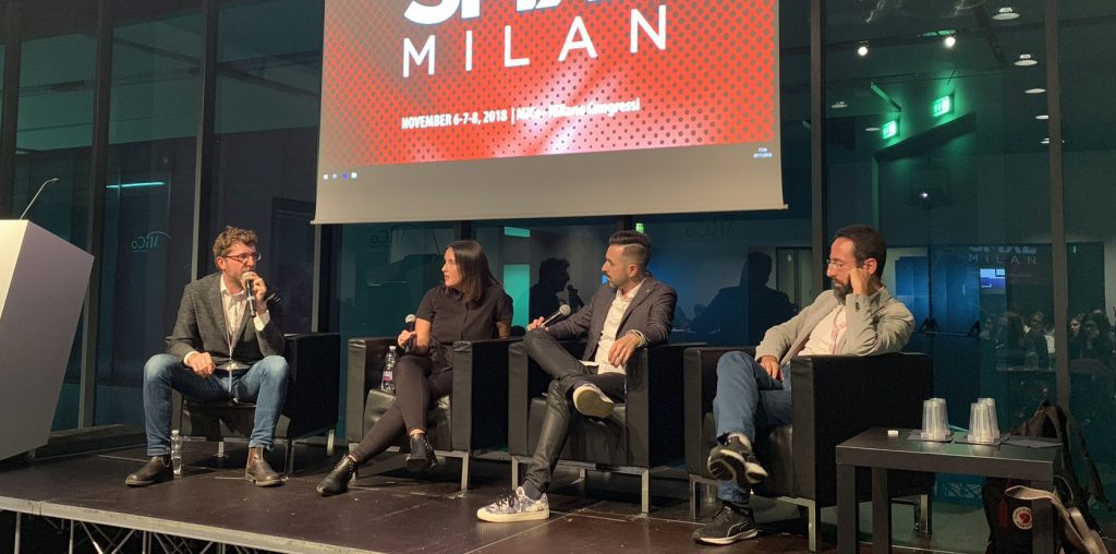 SMXL Milan Panel on Influencer Marketing