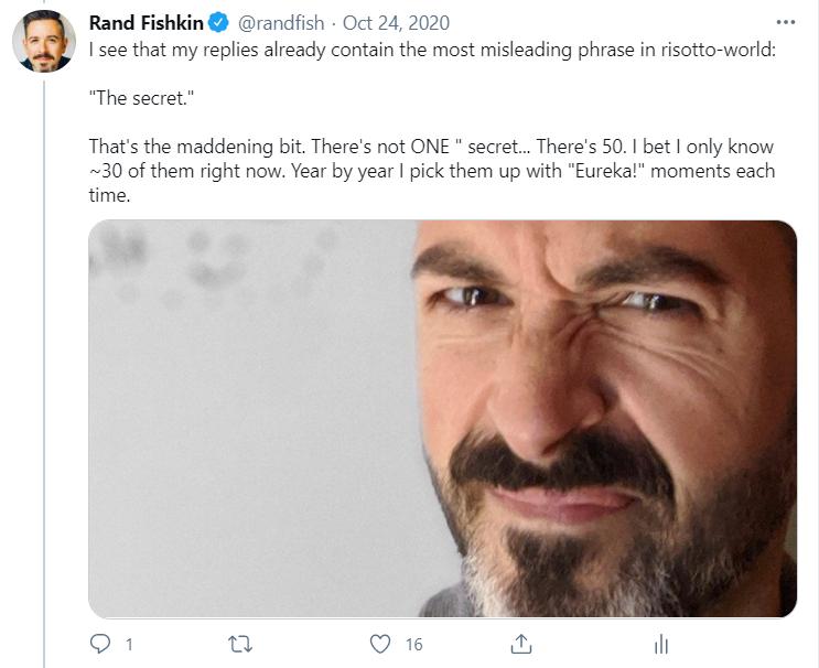 Rand unhappy on Twitter
